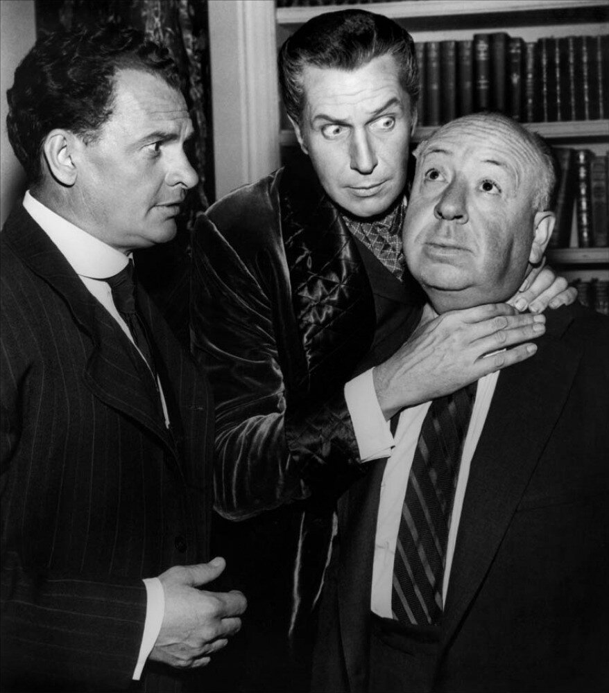 ames Gregory, Alfred Hitchcock, Vincent Price