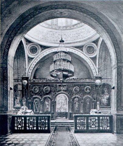 Церковь в здании Николаевской гимназии