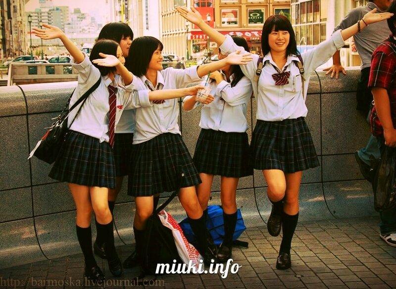 японские девочки на осмотре видео