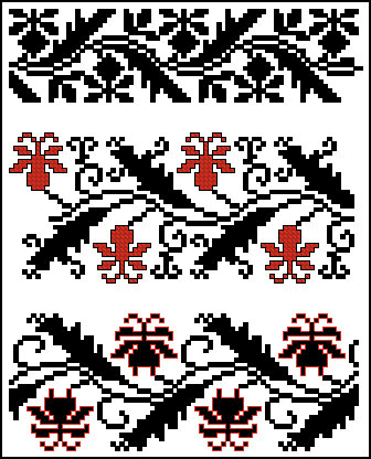 Схемы рушников (подборка 1) .