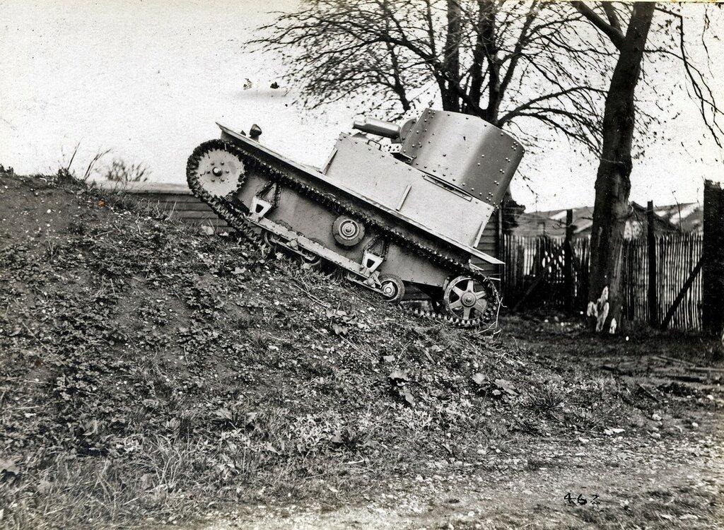 Patrol Tank, 1932