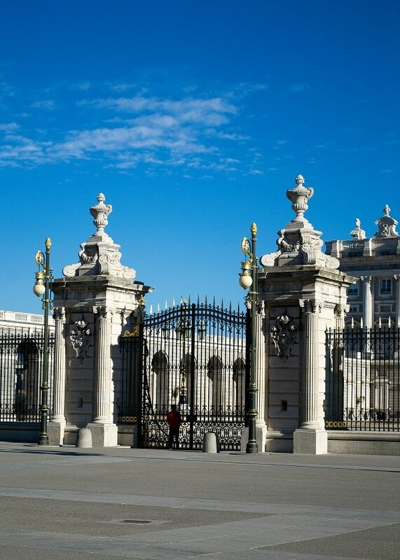 Королевский дворец....Мадрид