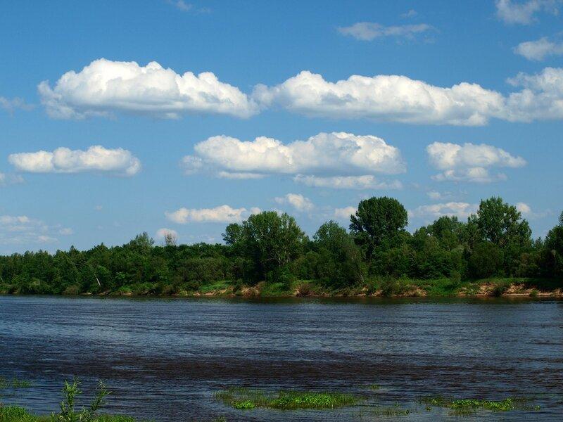Вид из Орлова на противоположную сторону реки Вятки