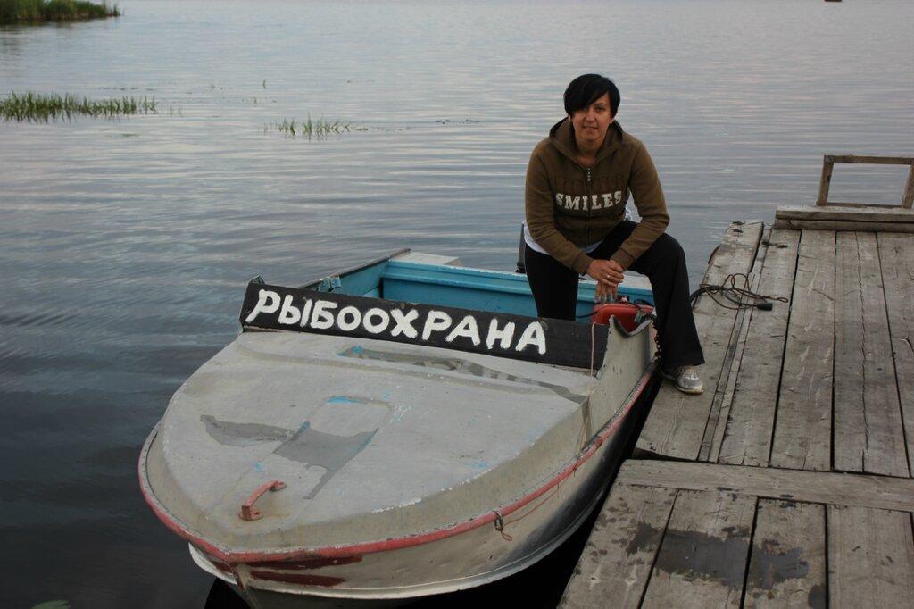 рыбак на чебаркуле