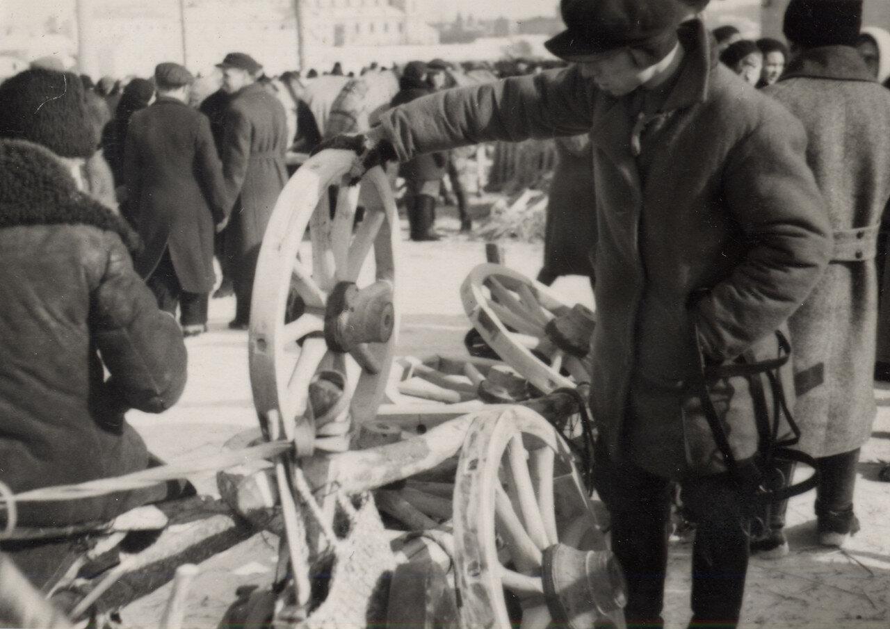 На кирмаше.Фото Семак Франца 1939