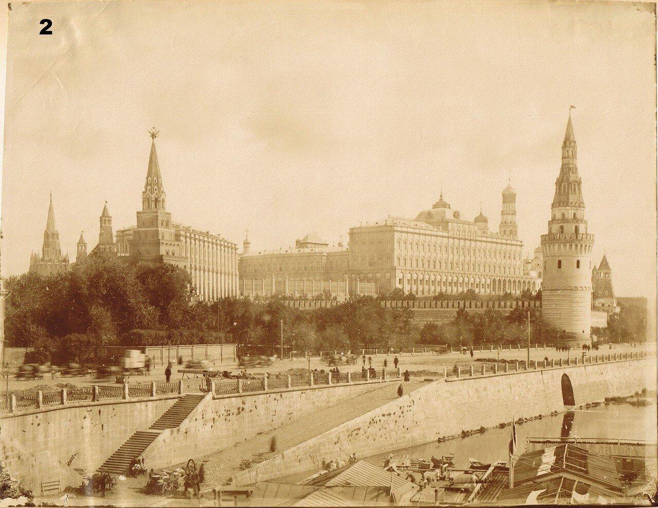 652. Большой Кремлевский дворец от Большого Каменного моста. 1890