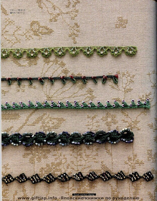 Beads Crochet Edging