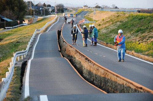 Дорога в Японии
