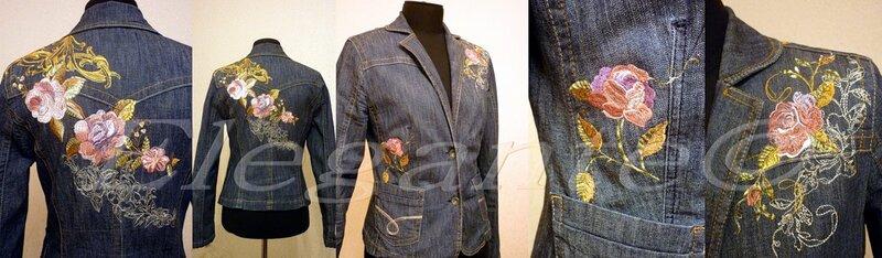 Картинки для вышивки джинсовых курток