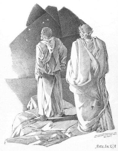 Чистилище. Песнь 1. Терцина 1