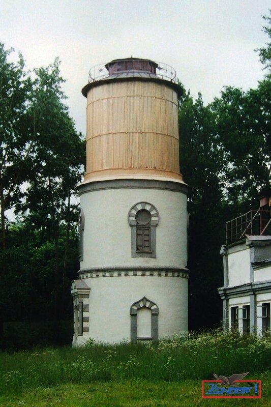 Водонапорная башня станции Бирюлево-Товарная