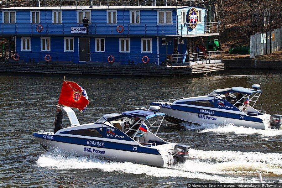 Реформа в действии: водная полиция