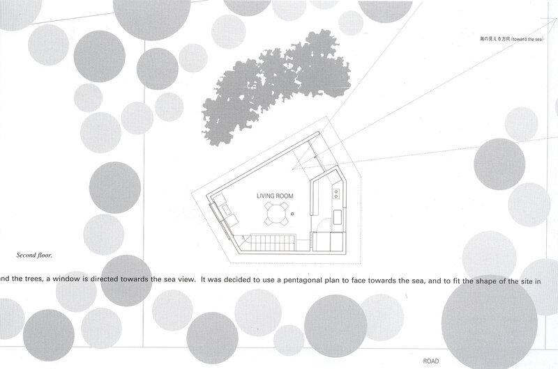 Жилой дом, генеральный план участка, Япония  JA00521