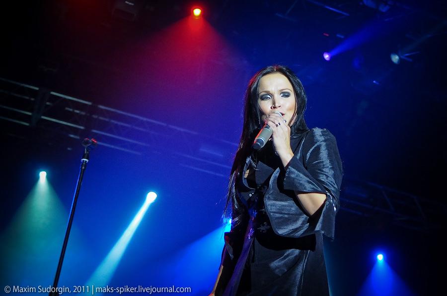 Тарья Турунен (Tarja Turunen, бывшая вокалистка Nightwish) в Arena Moscow, 29 апреля 2011