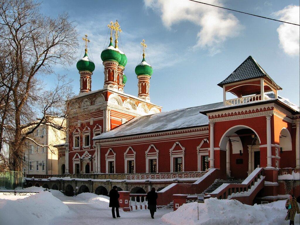 Собор Сергия Радонежского. Высоко-Петровский монастырь.