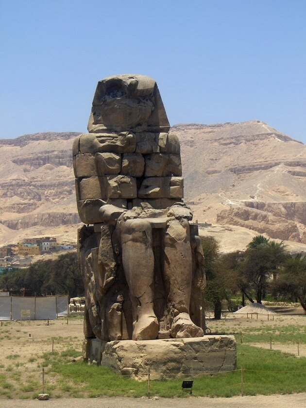 Колоссы Мемнона. Египет