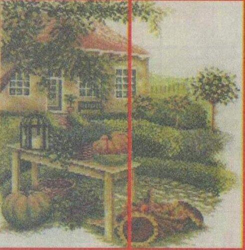 Вышивка крестом пейзажи: Сбор