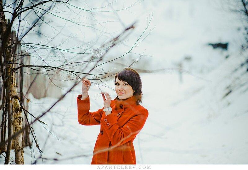Фотосессия для лены апрель 2011 зима не