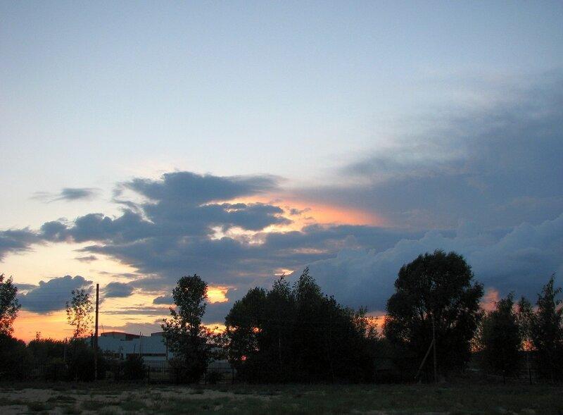 Закат 2010.08.27