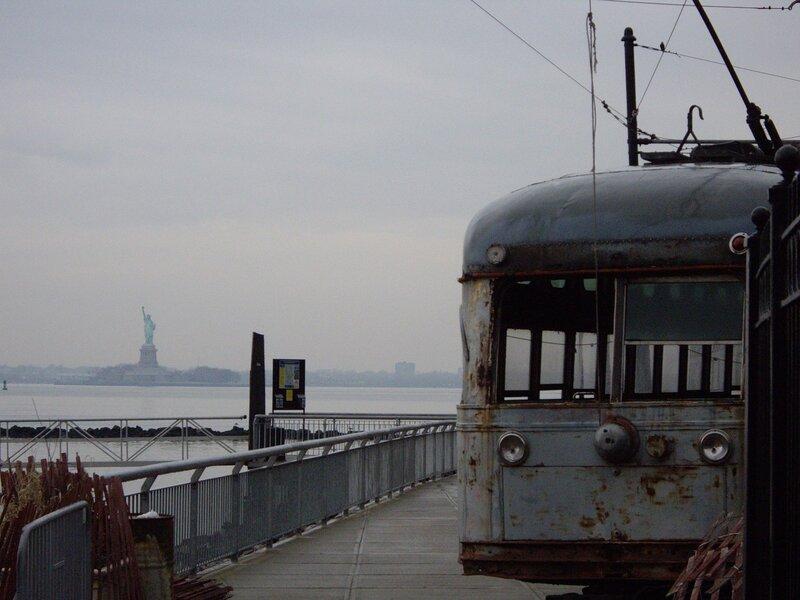 нью йорк трамвай