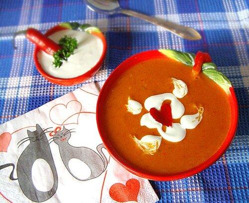 Суп из красного перца