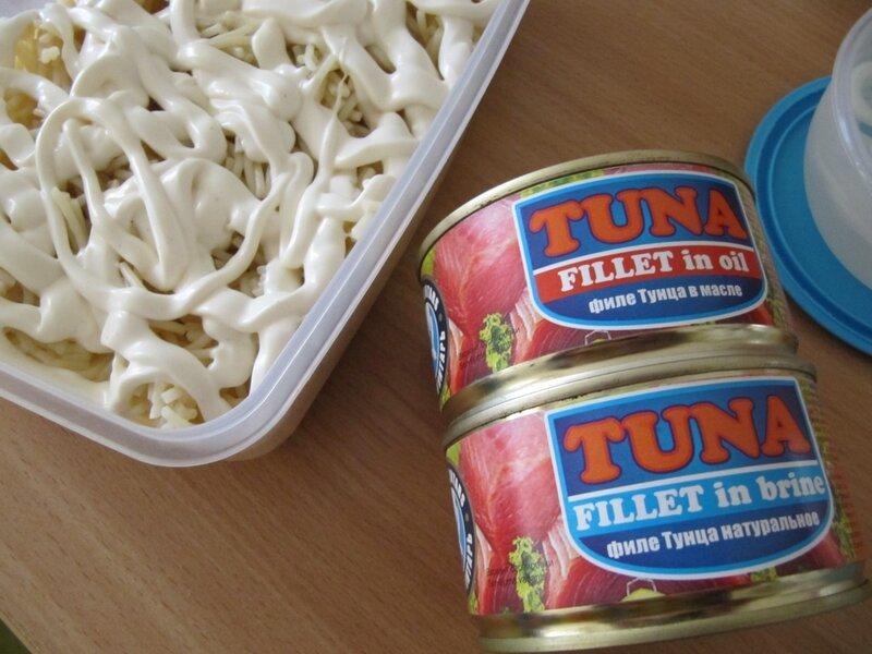 Салат с тунцом (c)rizanka
