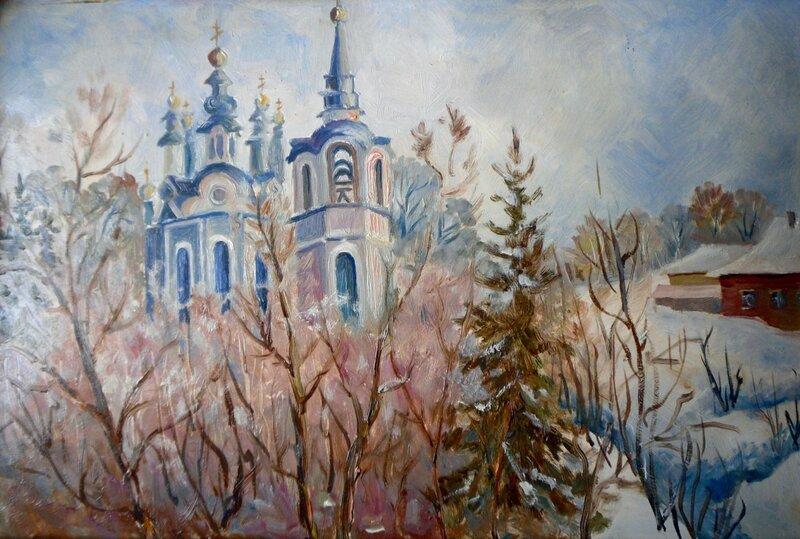 Воскресенская церковь. Томск.