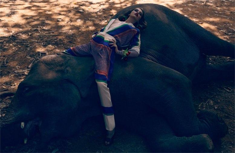 Саманта Градовилл / Samantha Gradoville by Sean and Seng for POP S-S 2011