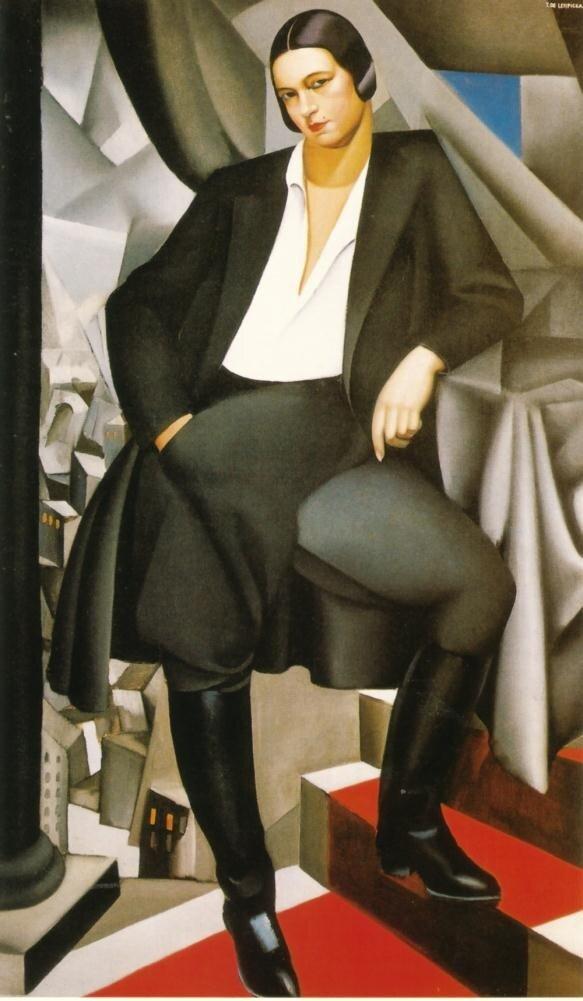 Лемпицка Тамара. Мадемуазель де ла Салль. 1925.http://veniamin1.livejournal.com/profile
