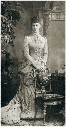 Молодая вел.кн. 1884г