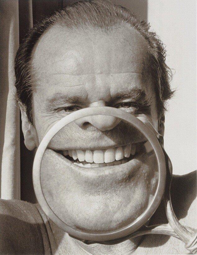 Photographer Herb Ritts.Jack Nicholson