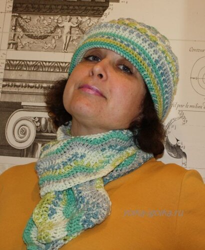Шапка и шарф