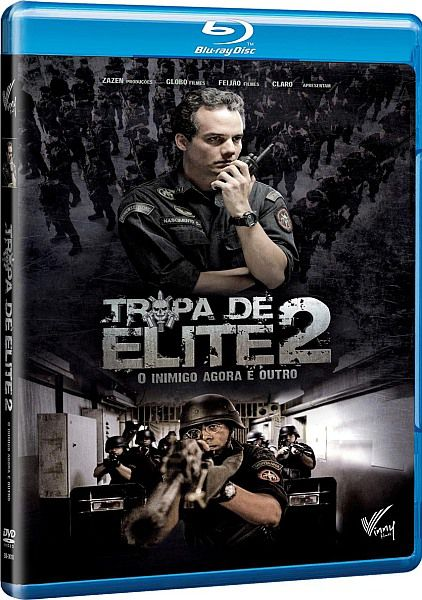 Элитный отряд: Враг внутри / Tropa de Elite 2 - O Inimigo Agora É Outro (2010/HDRip)