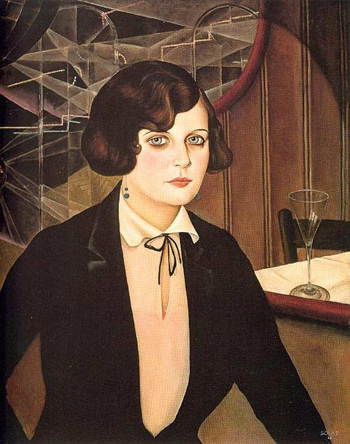 Lotte, 1927 by Christian Schad