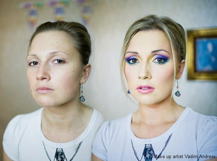 Работы визажиста Вадима Андреева