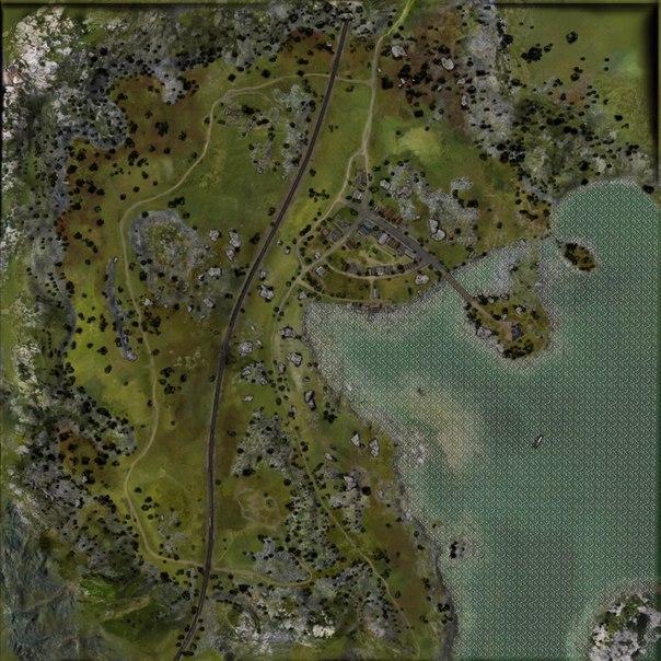 Карта Тихий Берег