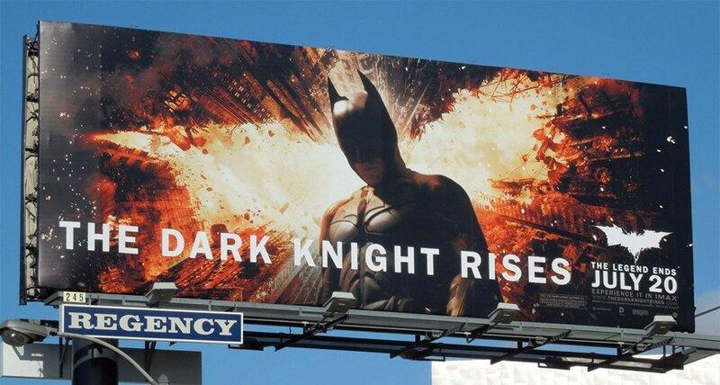 История создания плаката к новому Бэтмену