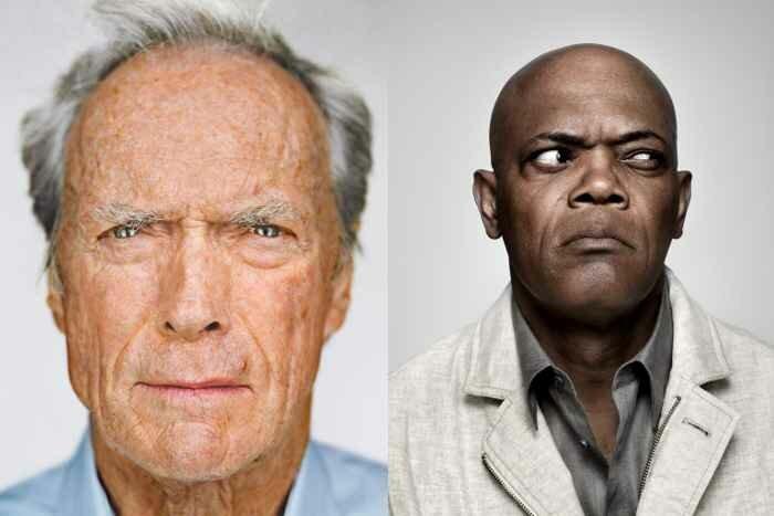 Как выглядели бы Клинт Иствуд и Сэмюэл Л. Джексон, если бы были животными