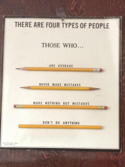 Четыре типа людей