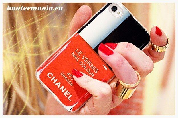 Чехол для смартфона с логотипом Chanel