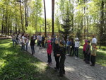 Военно-спортивная игра Зарница, посвященная Юбилею Великой Победы