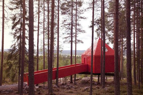 Дома на деревьях - экологичный отдых