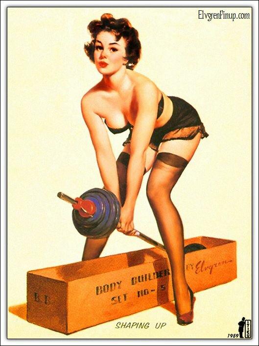 Открытка с днем рождения спортивной женщине 81