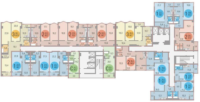 Фрегат_планировки_квартиры (2 этаж)