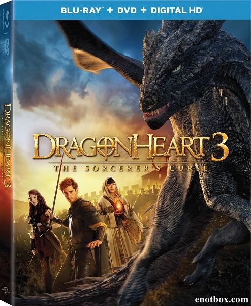 Сердце дракона 3: Проклятье чародея / Dragonheart 3: The Sorcerer's Curse (2015/BDRip/HDRip)