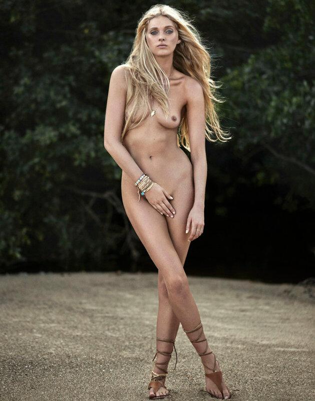 Elsa Hosk Nude By Adam Franzino