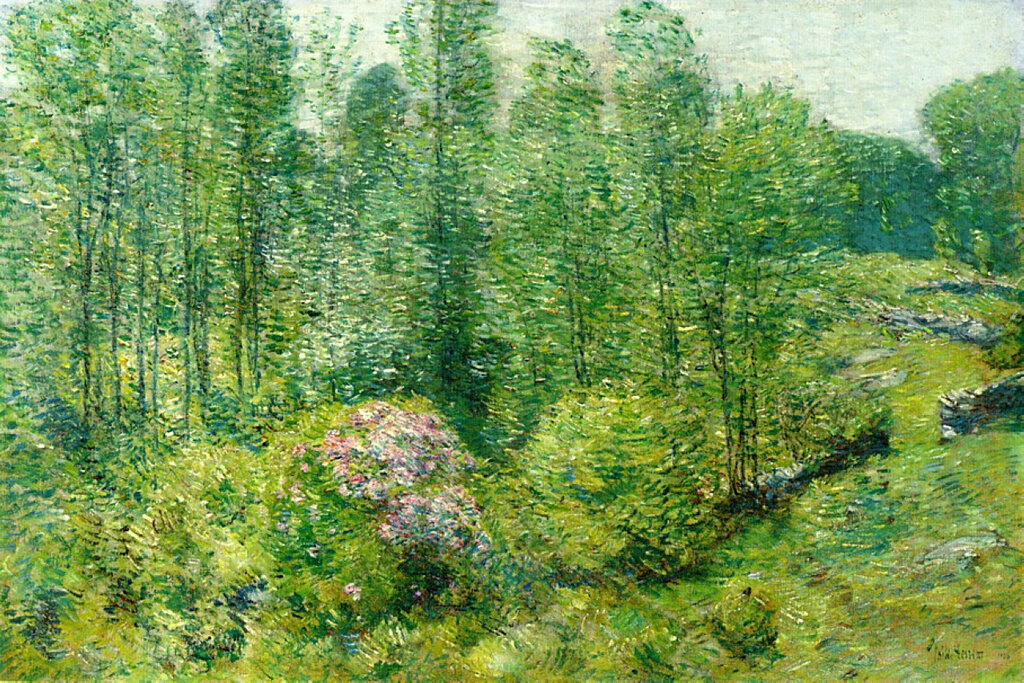Spring Landscape with a Farmer and White Horse, 1906.jpeg