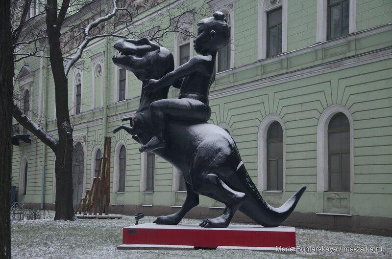 В Мраморном дворце, Санкт-Петербург, 18 декабря 2015 года