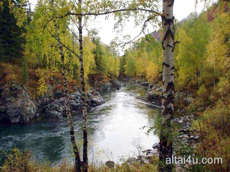 Река Коргон, водопад Спартак