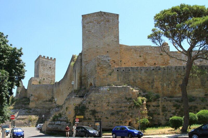 Сицилия, Энна, замок Ломбардия